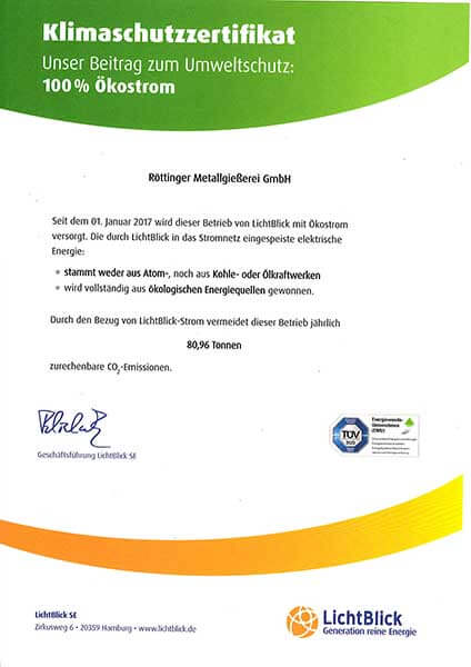 Intertek-Zertifikat